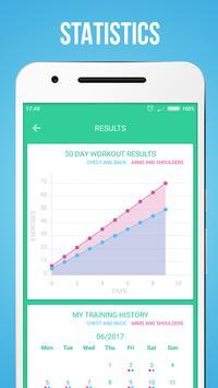 Upper Body Workouts स्क्रीनशॉट 11