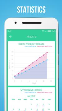 Upper Body Workouts स्क्रीनशॉट 3