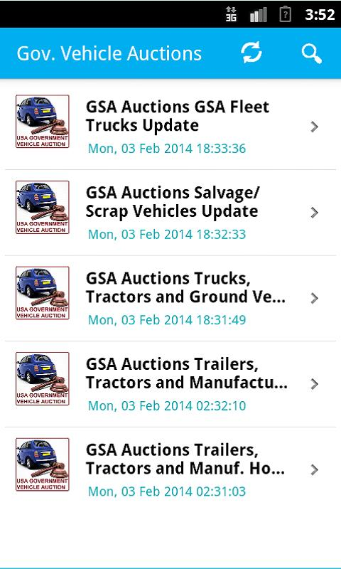 Gsa Auto Auctions >> Us Government Gsa Vehicle Auto Auctions Listings For