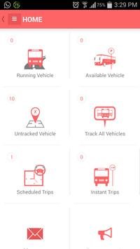 Fleet Manager Vehicle Tracking poster