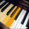 échelles et accords de piano icône