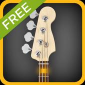Bass Guitar Tutor Free icon