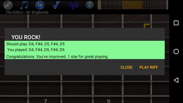 Guitar Riff Free screenshot 3