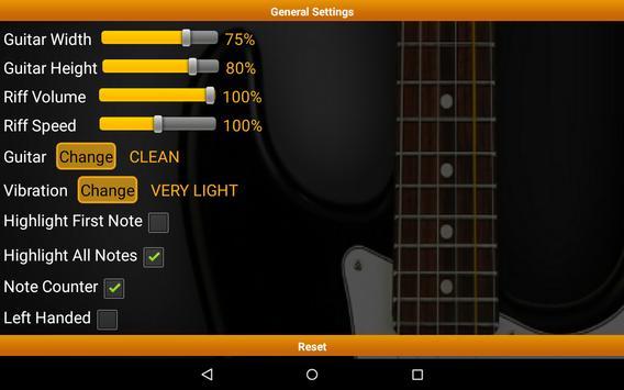 Guitar Riff Free screenshot 10