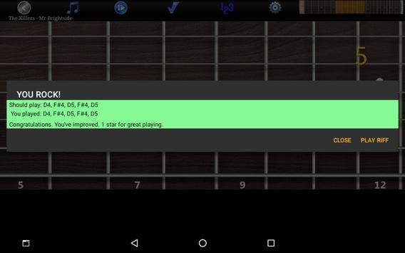 Guitar Riff Free screenshot 9