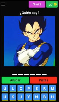 Quiz personajes Dragon Ball screenshot 2