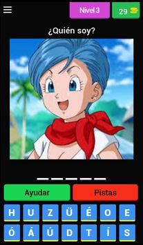Quiz personajes Dragon Ball screenshot 3