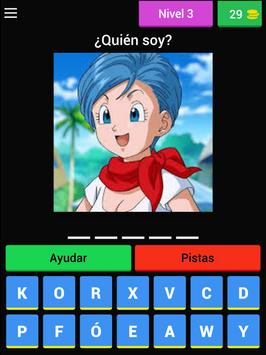 Quiz personajes Dragon Ball screenshot 7