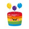 Happy Birthday Stickers - WAStickerApps أيقونة