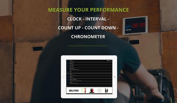 Velites: Workout Interval Timer for CrossFit WOD 스크린샷 10
