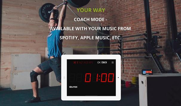 Velites: Workout Interval Timer for CrossFit WOD 스크린샷 11