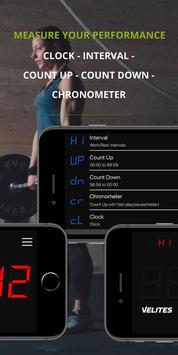 Velites: Workout Interval Timer for CrossFit WOD 스크린샷 2