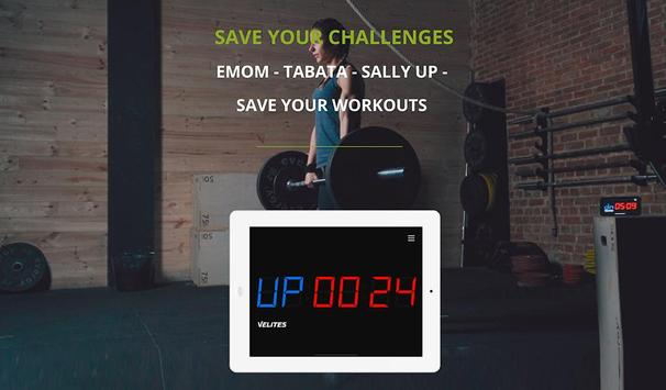 Velites: Workout Interval Timer for CrossFit WOD 스크린샷 9