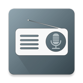 GRL - Global radio line icon