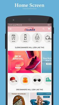 Nautica OpenCart Marketplace Mobile App poster