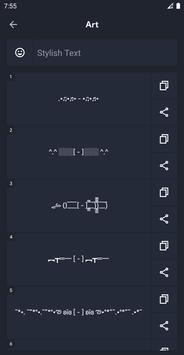 Cool Symbols & Characters – Stylish Text screenshot 4