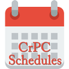 CrPC - Schedules and Amedments أيقونة