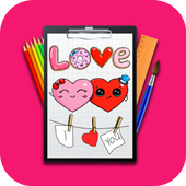 Learn How To Draw Lessons For Kids Step By Step icon
