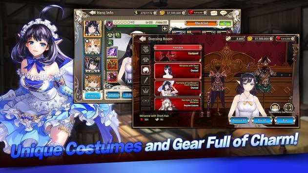KING`s RAID تصوير الشاشة 10
