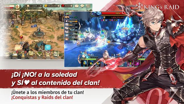 King's Raid captura de pantalla 6