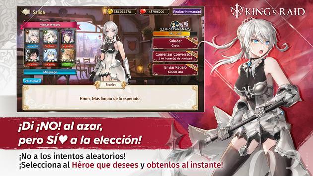 King's Raid captura de pantalla 18