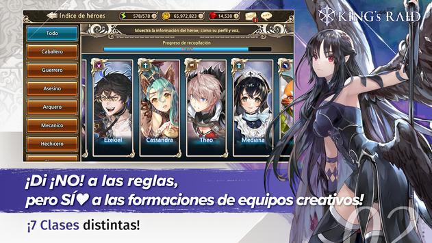 King's Raid captura de pantalla 1