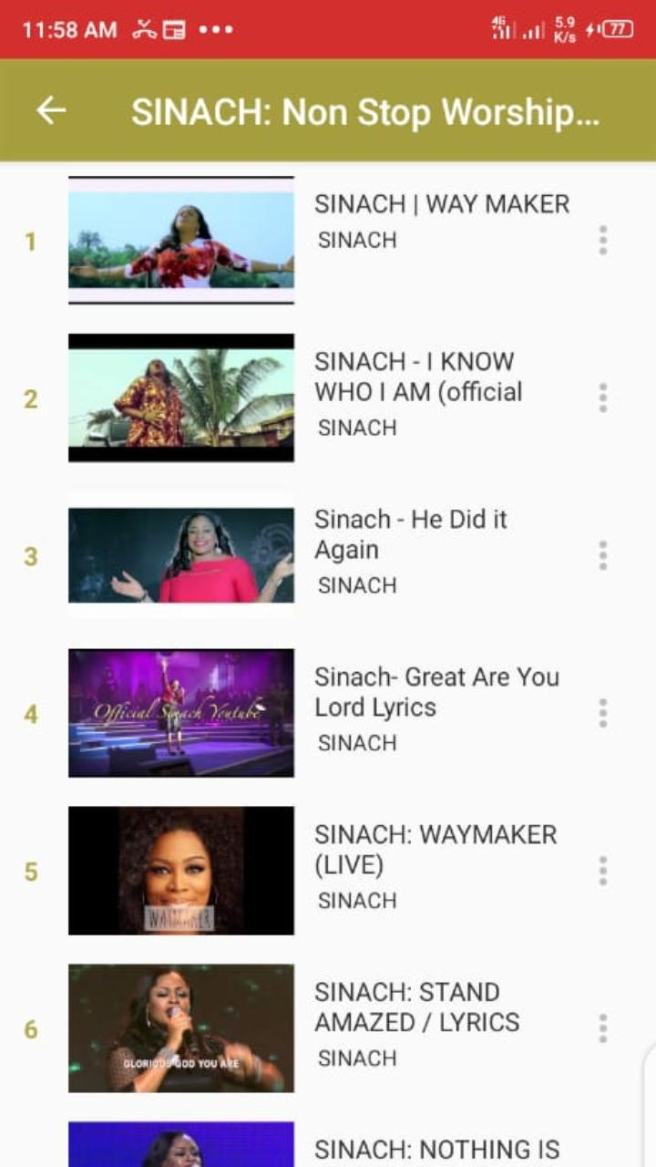 Sinach Video Songs For Android Apk Download