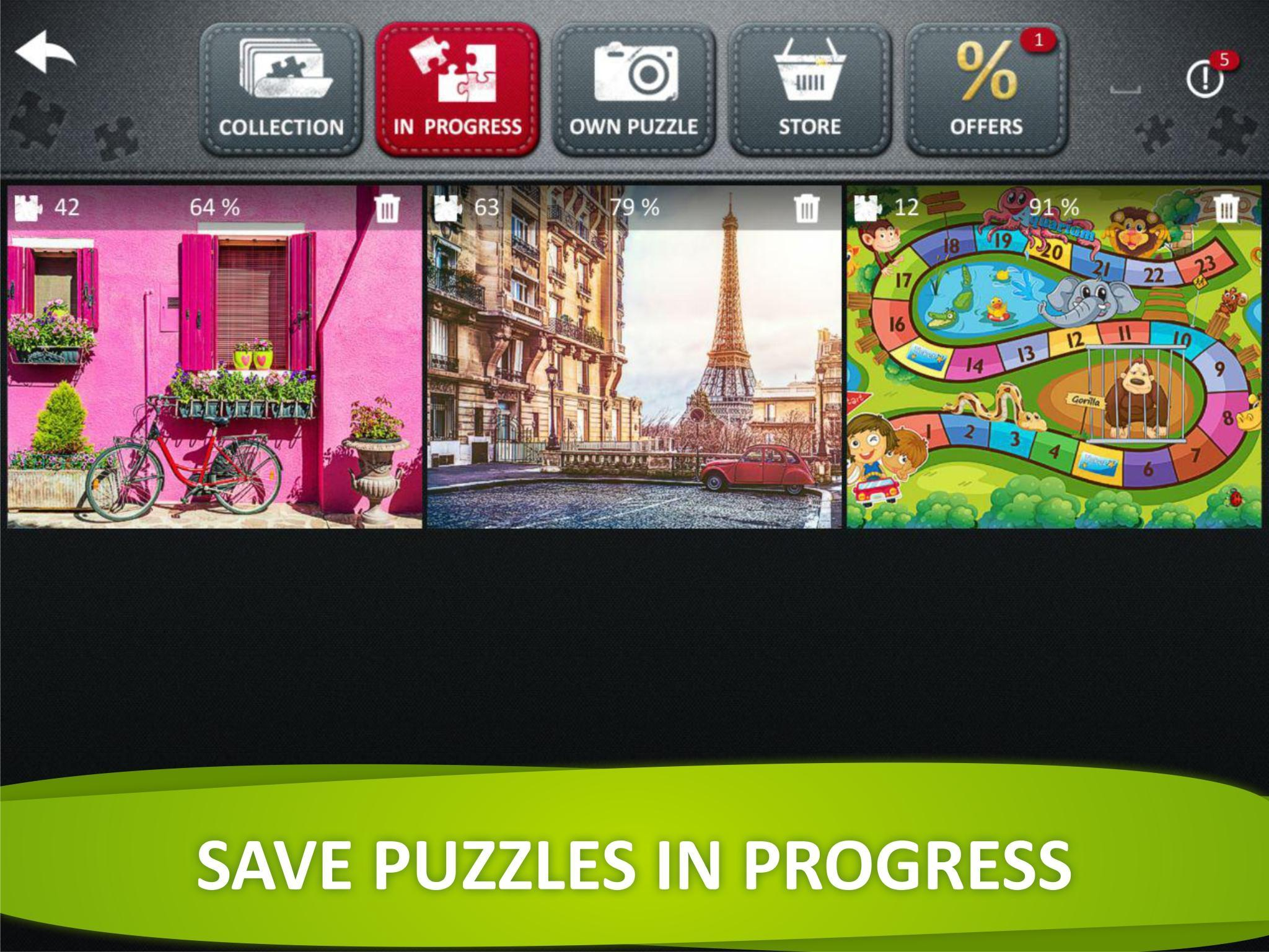 Jigsaw Puzzle Collection HD - puzzles for adults for Android