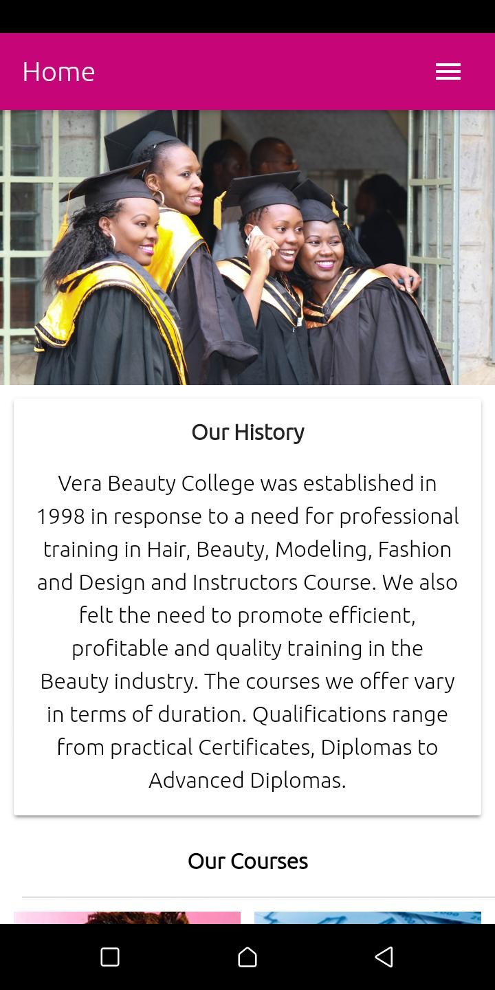Vera Beauty Fashion College For Android Apk Download