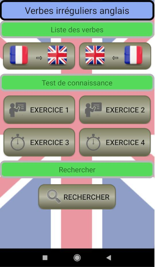 Verbes Irreguliers Anglais For Android Apk Download