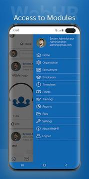 WebHR screenshot 3