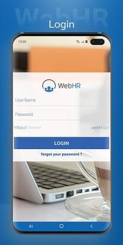 WebHR ポスター