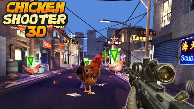 Crazy Chicken Shooting - Angry Chicken Knock Down screenshot 13