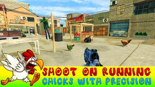 Crazy Chicken Shooting - Angry Chicken Knock Down screenshot 3