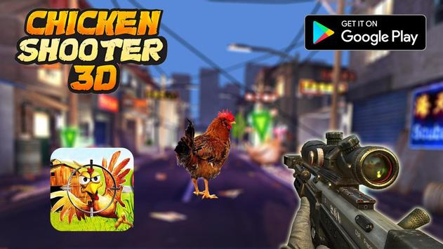 Crazy Chicken Shooting - Angry Chicken Knock Down screenshot 5