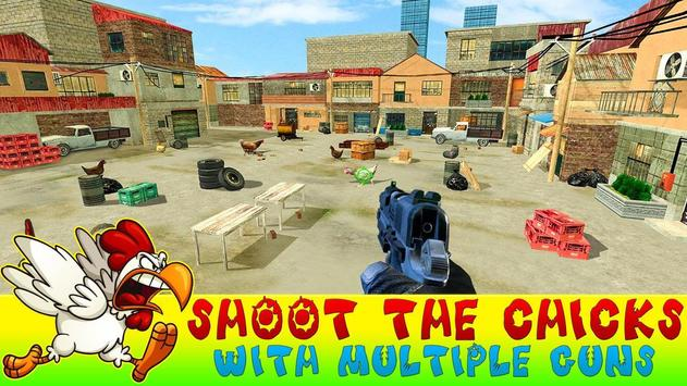 Crazy Chicken Shooting - Angry Chicken Knock Down screenshot 9
