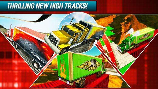 Happy Crazy wheels Trailers - Impossible Road Race screenshot 1