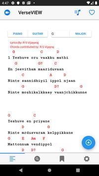 VerseVIEW Christian Song Book screenshot 2