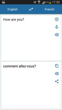 Francuski Angielski Tłumacz screenshot 1