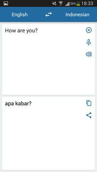 इंडोनेशियाई अंग्रेजी अनुवादक स्क्रीनशॉट 1