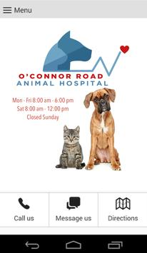 O'Connor Road Animal Hospital poster