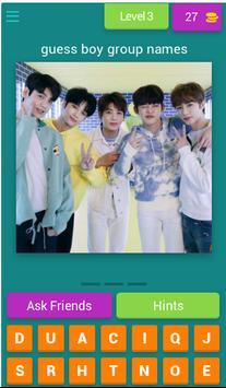 Guess Names Kpop Boygroup 2019 screenshot 3
