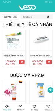 VEZO - Dược phẩm & Thiết bị y tế trực tuyến screenshot 2