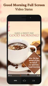 Good Morning Video Status poster