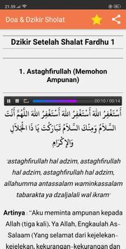Doa Dzikir Setelah Sholat Fardhu & Sunnah + MP3 screenshot 2