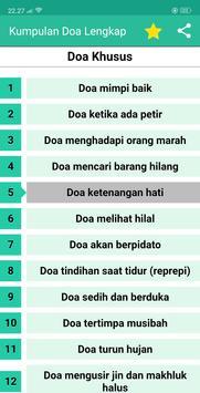Doa Doa Lengkap - Kumpulan Doa Sehari Hari Offline screenshot 5
