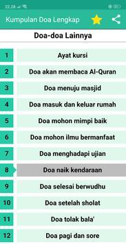 Doa Doa Lengkap - Kumpulan Doa Sehari Hari Offline screenshot 8