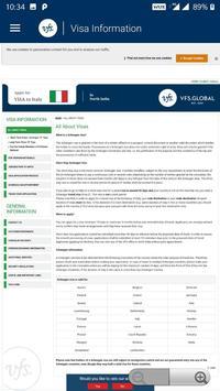 VFS Italy screenshot 4