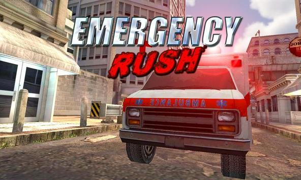 Emergency Rush: Patient Driver poster