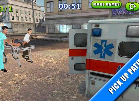 Emergency Rush: Patient Driver screenshot 10